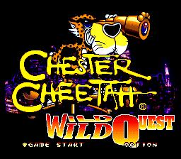 Chester Cheetah: Wild Wild Quest