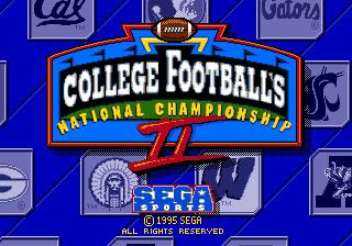 College Football's National Championship II