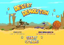 Desert Demolition