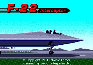 F-22 Interceptor: Advanced Tactical Fighter