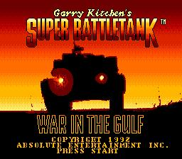 Garry Kitchen's Super Battletank: War in the Gulf