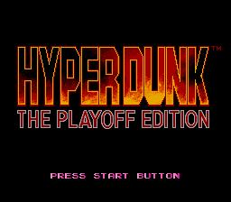 Hyper Dunk: The Playoff Edition