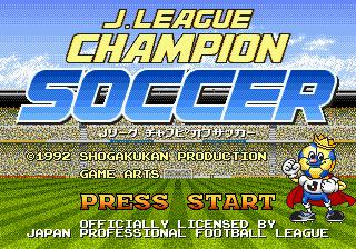 J. League Champion Soccer