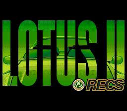 Lotus II: RECS