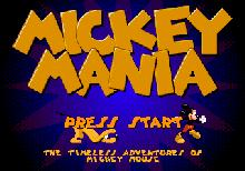 Mickey Mania: The Timeless Adventures of Mickey Mouse