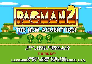 Pac-Man 2: The New Adventures