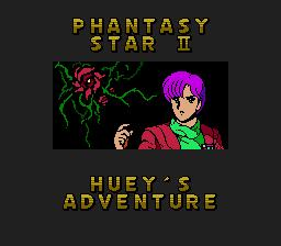 Phantasy Star II: Huey's Adventure