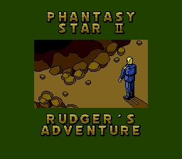 Phantasy Star II: Rudger's Adventure