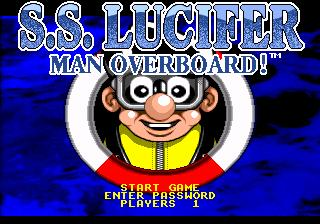 S.S. Lucifer: Man Overboard!