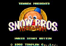 Snow Bros : Nick & Tom