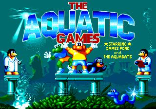 The Aquatic Games Starring James Pond and The Aquabats