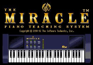 The Miracle Piano Teaching System (software)