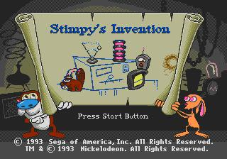 The Ren & Stimpy Show Presents Stimpy's Invention